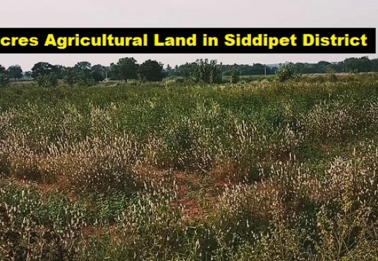 agriculture land for sale near hyderabad